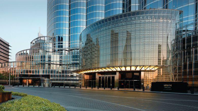 "Armani Hotel Dubai Exterior. Images powered by <a href=""http://www.leonardo.com"" target=""_blank"" rel=""noopener"">Leonardo</a>."