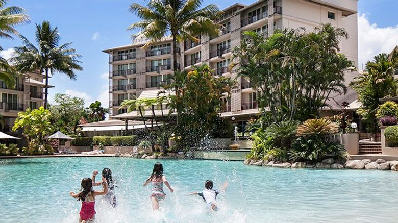 "Novotel Cairns Oasis Resort Exterior. Images powered by <a href=""http://www.leonardo.com"" target=""_blank"" rel=""noopener"">Leonardo</a>."