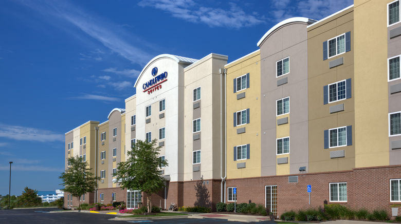 """Candlewood Suites Indianapolis NW Exterior. Images powered by <a href=""""http://www.leonardo.com"""" target=""""_blank"""" rel=""""noopener"""">Leonardo</a>."""