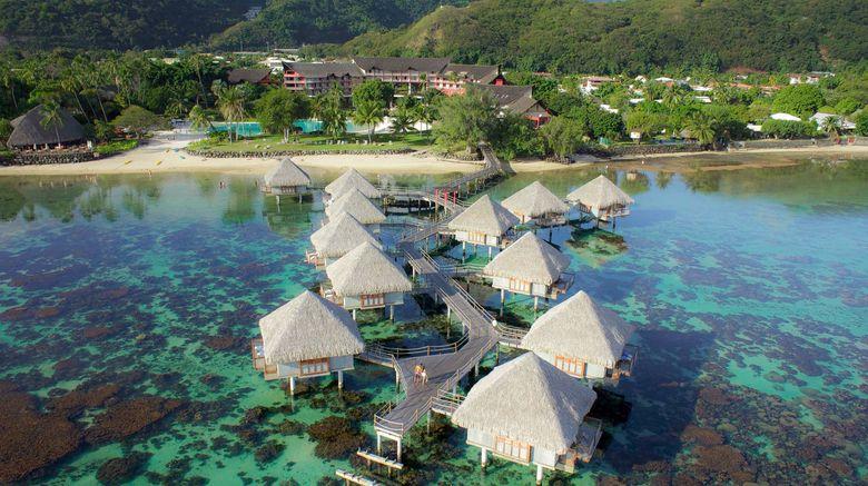 "Le Tahiti Ia Ora Beach Resort by Sofitel Exterior. Images powered by <a href=""http://www.leonardo.com"" target=""_blank"" rel=""noopener"">Leonardo</a>."