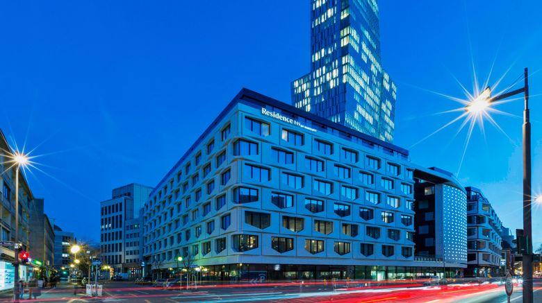 """Residence Inn Frankfurt City Center Exterior. Images powered by <a href=""""http://www.leonardo.com"""" target=""""_blank"""" rel=""""noopener"""">Leonardo</a>."""
