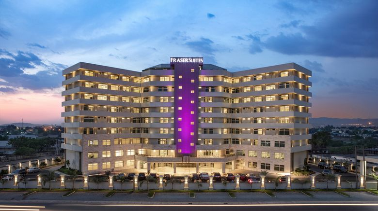 "Fraser Suites Abuja Exterior. Images powered by <a href=""http://www.leonardo.com"" target=""_blank"" rel=""noopener"">Leonardo</a>."