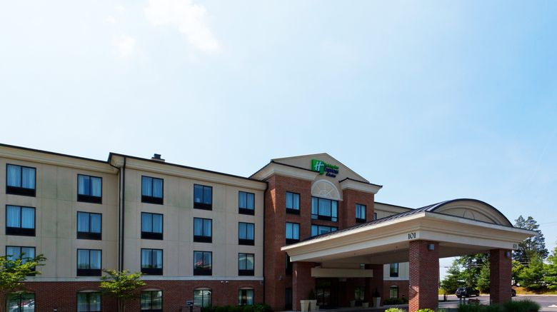 """Holiday Inn Express  and  Suites North East Exterior. Images powered by <a href=""""http://www.leonardo.com"""" target=""""_blank"""" rel=""""noopener"""">Leonardo</a>."""