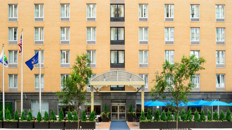 "Holiday Inn Express NYC - Chelsea Exterior. Images powered by <a href=""http://www.leonardo.com"" target=""_blank"" rel=""noopener"">Leonardo</a>."