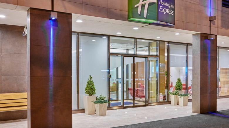 "Holiday Inn Express Belgrade Exterior. Images powered by <a href=""http://www.leonardo.com"" target=""_blank"" rel=""noopener"">Leonardo</a>."