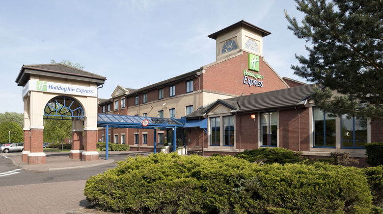 "Holiday Inn Express Strathclyde Park M74 Exterior. Images powered by <a href=""http://www.leonardo.com"" target=""_blank"" rel=""noopener"">Leonardo</a>."