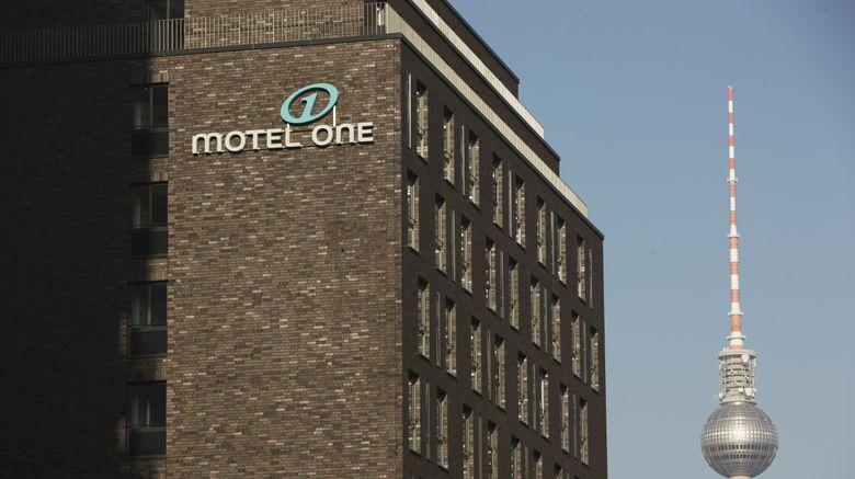 "Motel One Berlin-Spittelmarkt Exterior. Images powered by <a href=""http://www.leonardo.com"" target=""_blank"" rel=""noopener"">Leonardo</a>."