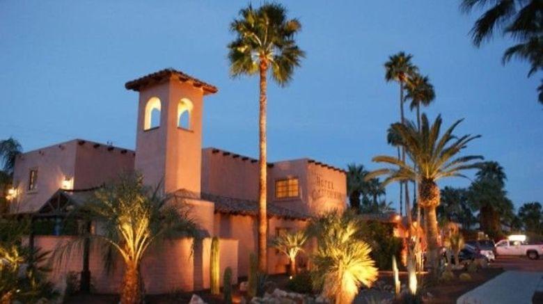 "Hotel California Exterior. Images powered by <a href=""http://www.leonardo.com"" target=""_blank"" rel=""noopener"">Leonardo</a>."