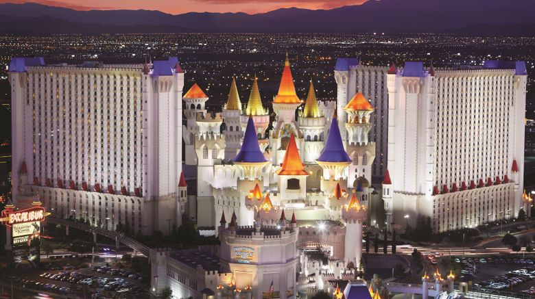 "Excalibur Hotel  and  Casino Exterior. Images powered by <a href=""http://www.leonardo.com"" target=""_blank"" rel=""noopener"">Leonardo</a>."
