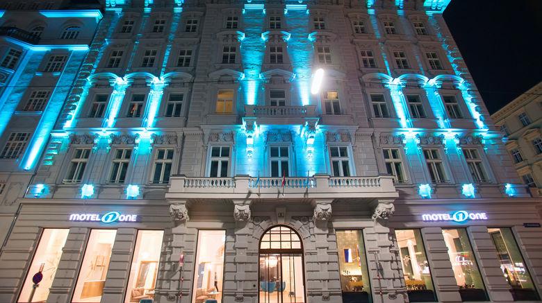"Motel One Wien-Staatsoper Exterior. Images powered by <a href=""http://www.leonardo.com"" target=""_blank"" rel=""noopener"">Leonardo</a>."