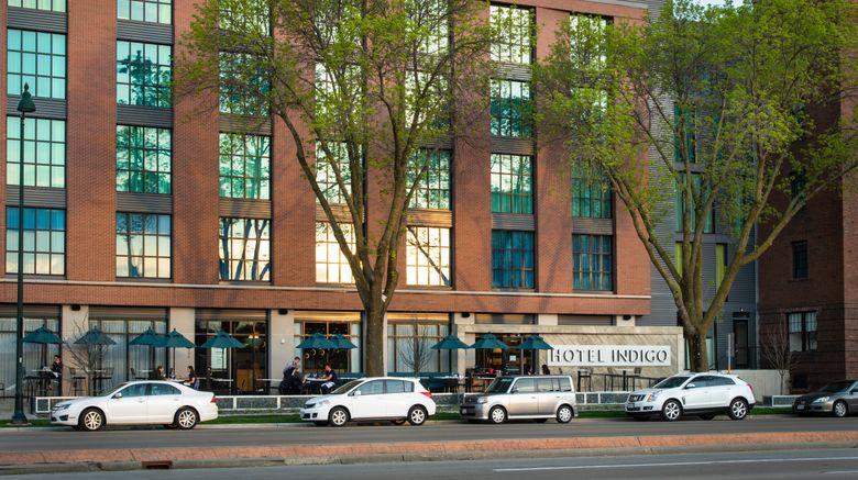 "Hotel Indigo Madison Downtown Exterior. Images powered by <a href=""http://www.leonardo.com"" target=""_blank"" rel=""noopener"">Leonardo</a>."