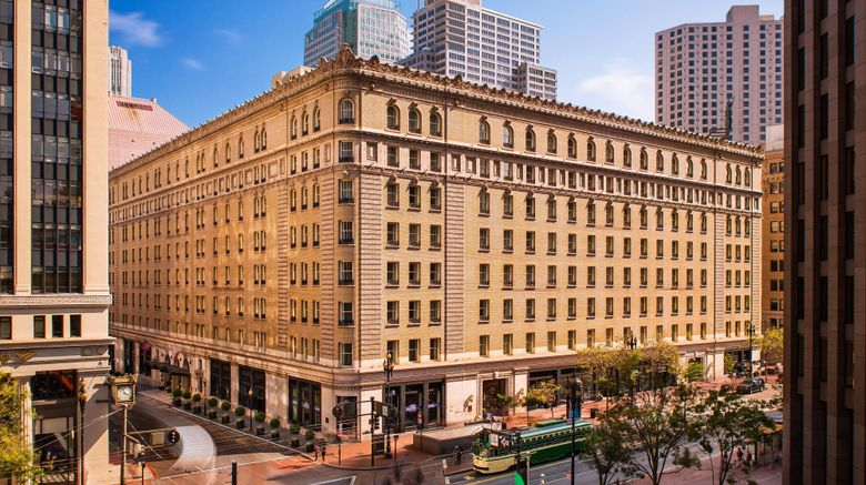 """Palace Hotel, A Luxury Collection Hotel Exterior. Images powered by <a href=""""http://www.leonardo.com"""" target=""""_blank"""" rel=""""noopener"""">Leonardo</a>."""