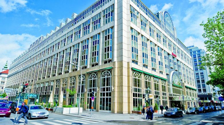 "Vienna Marriott Hotel Exterior. Images powered by <a href=""http://www.leonardo.com"" target=""_blank"" rel=""noopener"">Leonardo</a>."