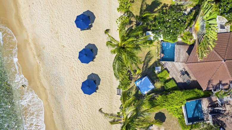 """Outrigger Koh Samui Beach Resort Exterior. Images powered by <a href=""""http://www.leonardo.com"""" target=""""_blank"""" rel=""""noopener"""">Leonardo</a>."""