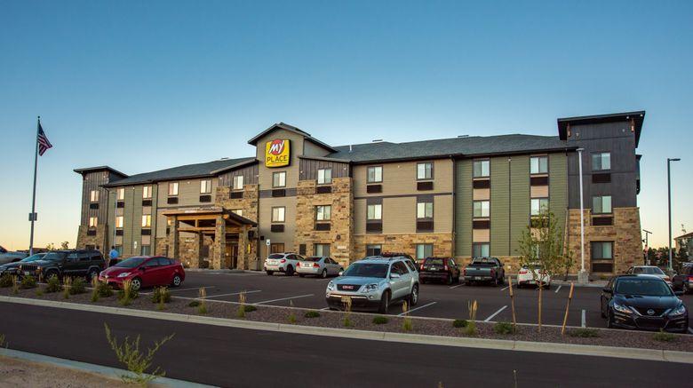 "My Place Hotel-Colorado Springs Exterior. Images powered by <a href=""http://www.leonardo.com"" target=""_blank"" rel=""noopener"">Leonardo</a>."