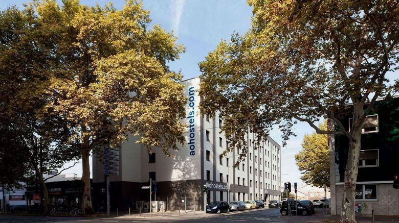 "A And O Hotel Frankfurt Ostend Exterior. Images powered by <a href=""http://www.leonardo.com"" target=""_blank"" rel=""noopener"">Leonardo</a>."