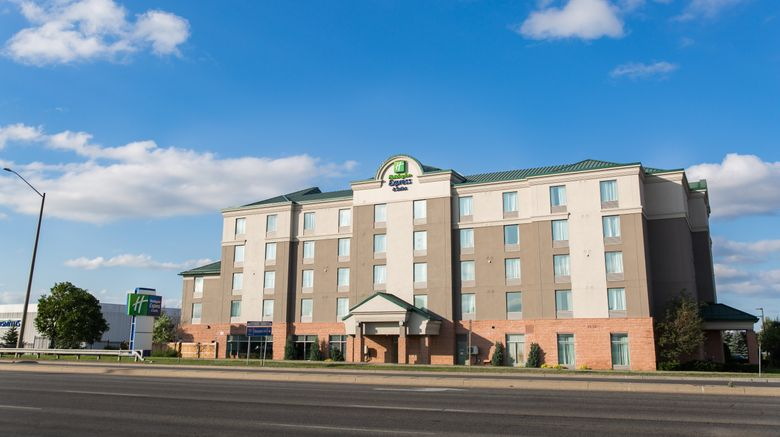 """Holiday Inn Express  and  Suites Brampton Exterior. Images powered by <a href=""""http://www.leonardo.com"""" target=""""_blank"""" rel=""""noopener"""">Leonardo</a>."""