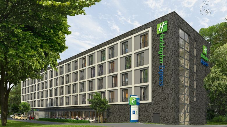"Holiday Inn Express Goettingen Exterior. Images powered by <a href=""http://www.leonardo.com"" target=""_blank"" rel=""noopener"">Leonardo</a>."