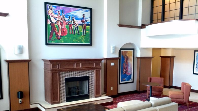 """Holiday Inn Express Hotel  and  Suites Lobby. Images powered by <a href=""""http://www.leonardo.com"""" target=""""_blank"""" rel=""""noopener"""">Leonardo</a>."""