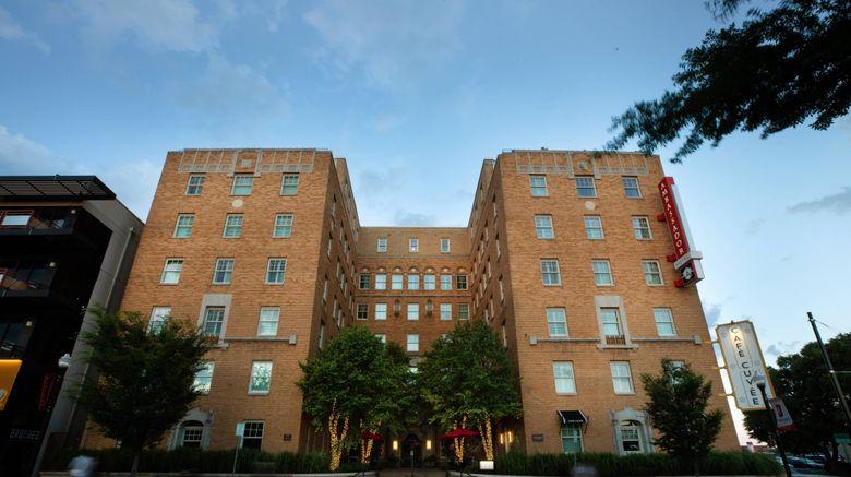 """Ambassador Hotel Oklahoma City Exterior. Images powered by <a href=""""http://www.leonardo.com"""" target=""""_blank"""" rel=""""noopener"""">Leonardo</a>."""