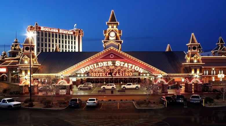 "Boulder Station Hotel  and  Casino Exterior. Images powered by <a href=""http://www.leonardo.com"" target=""_blank"" rel=""noopener"">Leonardo</a>."