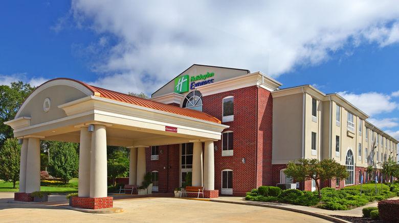 "Holiday Inn Express Minden Exterior. Images powered by <a href=""http://www.leonardo.com"" target=""_blank"" rel=""noopener"">Leonardo</a>."