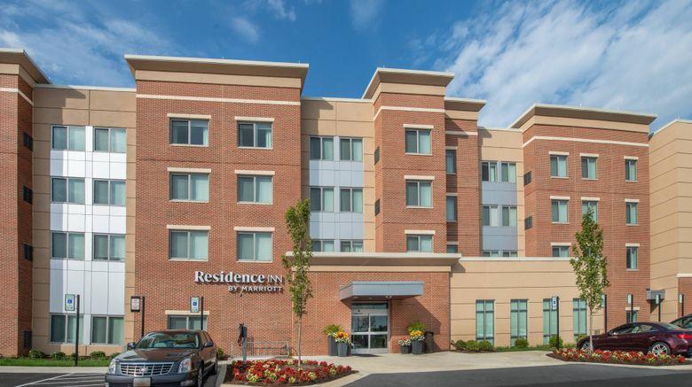 """Residence Inn Columbia Fulton Exterior. Images powered by <a href=""""http://www.leonardo.com"""" target=""""_blank"""" rel=""""noopener"""">Leonardo</a>."""