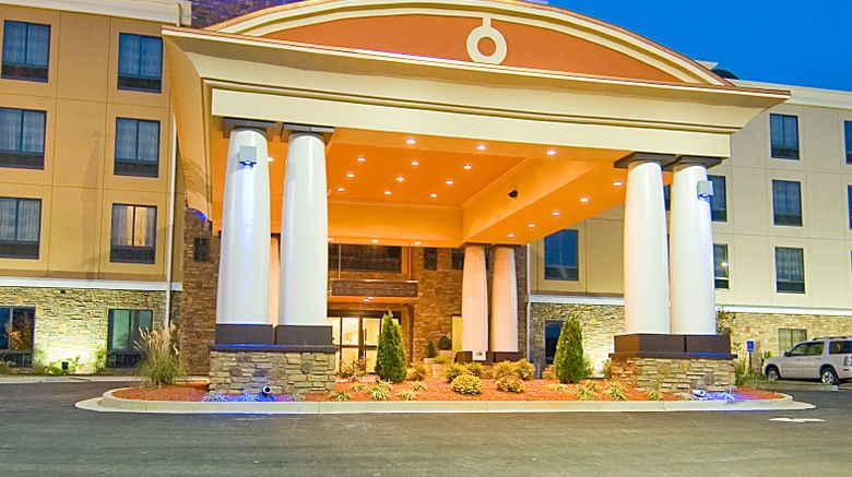 """Holiday Inn Express  and  Suites Fulton Exterior. Images powered by <a href=""""http://www.leonardo.com"""" target=""""_blank"""" rel=""""noopener"""">Leonardo</a>."""