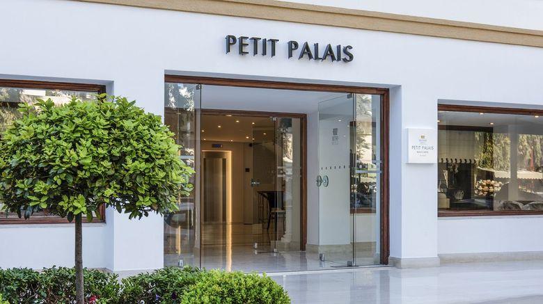 "Mitsis Petit Palais Exterior. Images powered by <a href=""http://www.leonardo.com"" target=""_blank"" rel=""noopener"">Leonardo</a>."