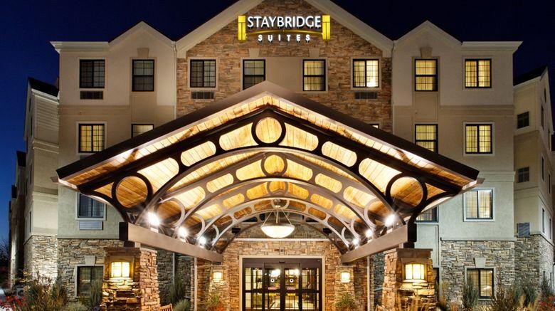 "Staybridge Suites Dearborn Exterior. Images powered by <a href=""http://www.leonardo.com"" target=""_blank"" rel=""noopener"">Leonardo</a>."
