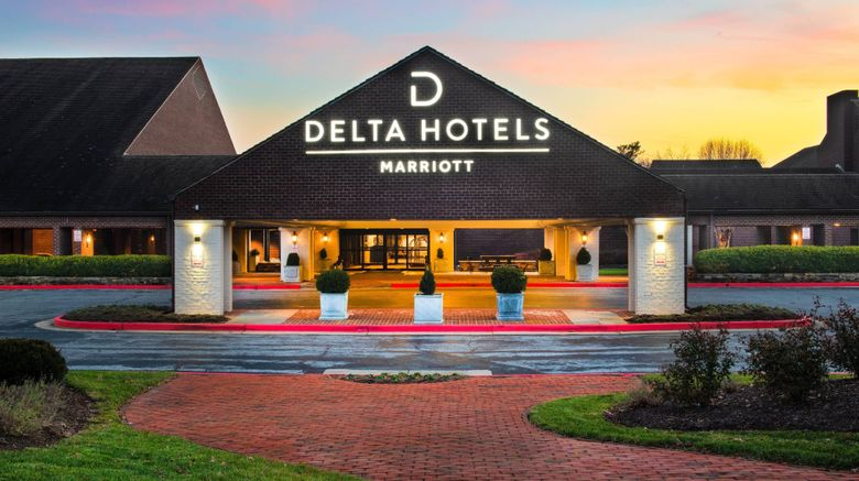 "Delta Hotels Baltimore Hunt Valley Exterior. Images powered by <a href=""http://www.leonardo.com"" target=""_blank"" rel=""noopener"">Leonardo</a>."