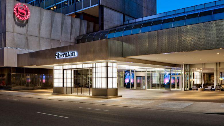 "Sheraton Dallas Hotel Exterior. Images powered by <a href=""http://www.leonardo.com"" target=""_blank"" rel=""noopener"">Leonardo</a>."