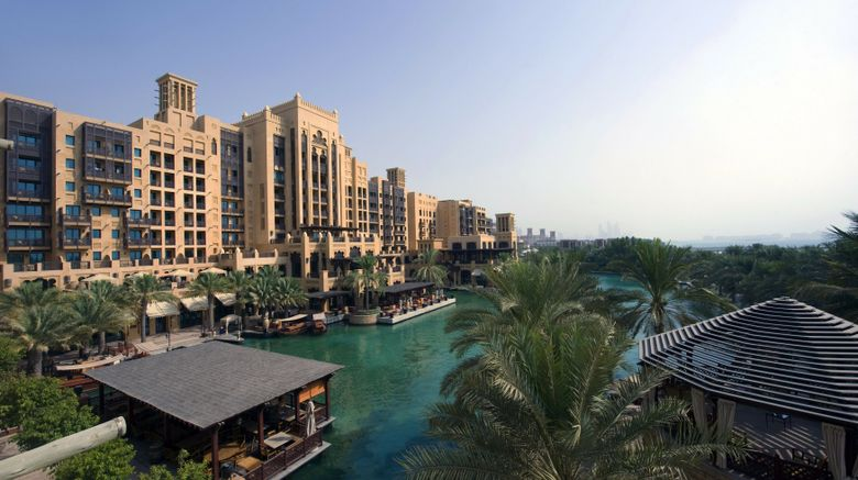 "Mina ASalam at Madinat Jumeirah Resort Exterior. Images powered by <a href=""http://www.leonardo.com"" target=""_blank"" rel=""noopener"">Leonardo</a>."