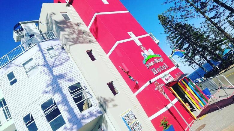 "Point Village Hotel Exterior. Images powered by <a href=""http://www.leonardo.com"" target=""_blank"" rel=""noopener"">Leonardo</a>."