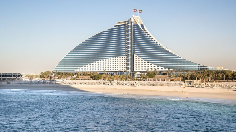 "Jumeirah Beach Hotel Exterior. Images powered by <a href=""http://www.leonardo.com"" target=""_blank"" rel=""noopener"">Leonardo</a>."