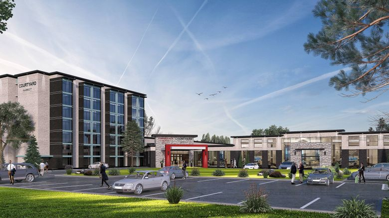 """TownePlace Suites by Marriott Oshawa Exterior. Images powered by <a href=""""http://www.leonardo.com"""" target=""""_blank"""" rel=""""noopener"""">Leonardo</a>."""