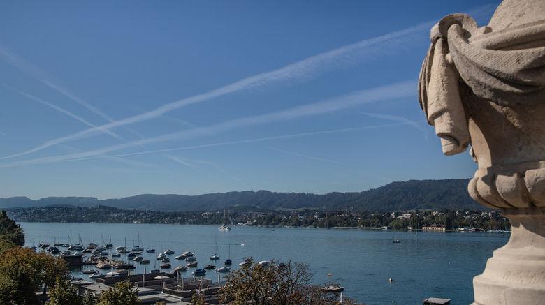 "La Reserve Eden au Lac Zurich Exterior. Images powered by <a href=""http://www.leonardo.com"" target=""_blank"" rel=""noopener"">Leonardo</a>."