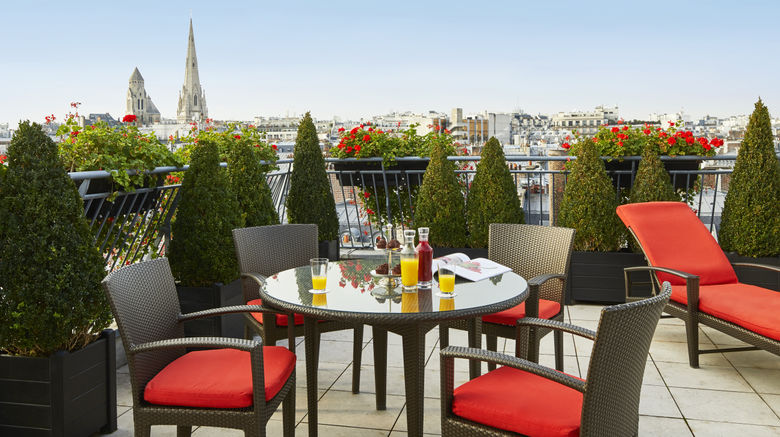 "Hotel Plaza Athenee Paris Exterior. Images powered by <a href=""http://www.leonardo.com"" target=""_blank"" rel=""noopener"">Leonardo</a>."