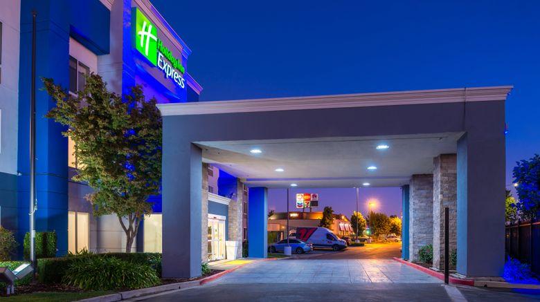 "Holiday Inn Express Stockton Exterior. Images powered by <a href=""http://www.leonardo.com"" target=""_blank"" rel=""noopener"">Leonardo</a>."