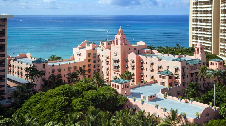 """The Royal Hawaiian, A Luxury Collection Exterior. Images powered by <a href=""""http://www.leonardo.com"""" target=""""_blank"""" rel=""""noopener"""">Leonardo</a>."""