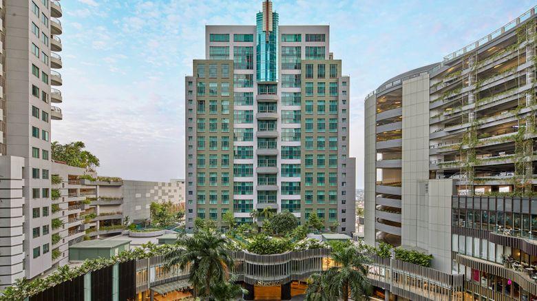"Sheraton Surabaya Hotel  and  Towers Exterior. Images powered by <a href=""http://www.leonardo.com"" target=""_blank"" rel=""noopener"">Leonardo</a>."