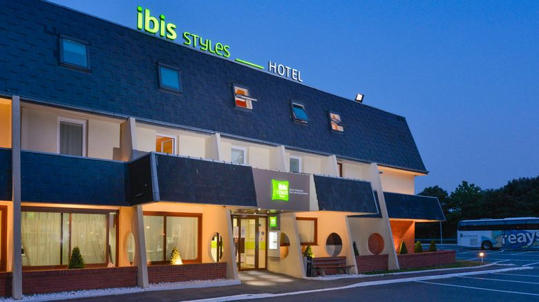 """Ibis Styles Parc des Expositions Exterior. Images powered by <a href=""""http://www.leonardo.com"""" target=""""_blank"""" rel=""""noopener"""">Leonardo</a>."""