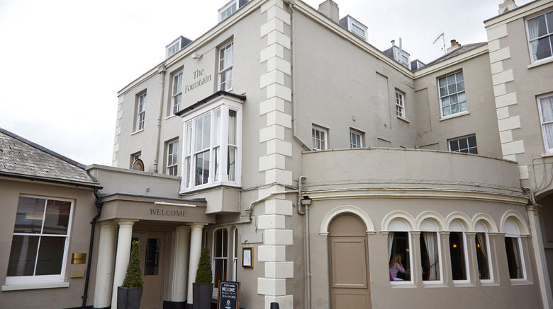 """Fountain Hotel, Isle of Wight Exterior. Images powered by <a href=""""http://www.leonardo.com"""" target=""""_blank"""" rel=""""noopener"""">Leonardo</a>."""