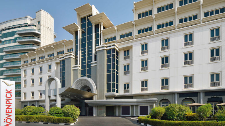 "Moevenpick Hotel  and  Apartments Bur Dubai Exterior. Images powered by <a href=""http://www.leonardo.com"" target=""_blank"" rel=""noopener"">Leonardo</a>."