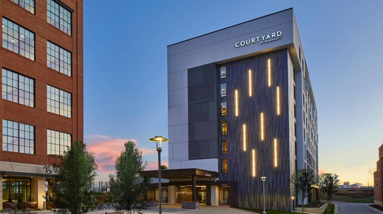 """Courtyard Baltimore Downtown/McHenry Row Exterior. Images powered by <a href=""""http://www.leonardo.com"""" target=""""_blank"""" rel=""""noopener"""">Leonardo</a>."""