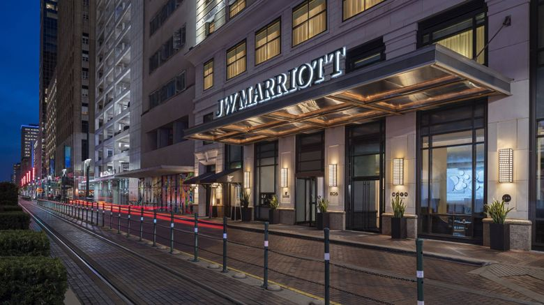 "<b>JW Marriott Houston Downtown Exterior</b>. Images powered by <a href=""https://leonardo.com/"" title=""Leonardo Worldwide"" target=""_blank"">Leonardo</a>."