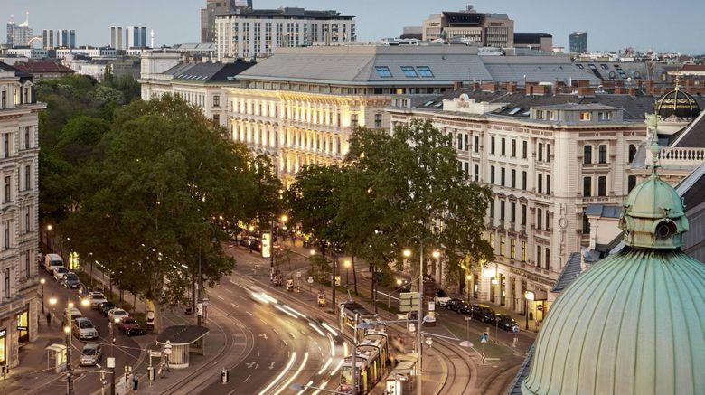 "The Ritz-Carlton, Vienna Exterior. Images powered by <a href=""http://www.leonardo.com"" target=""_blank"" rel=""noopener"">Leonardo</a>."