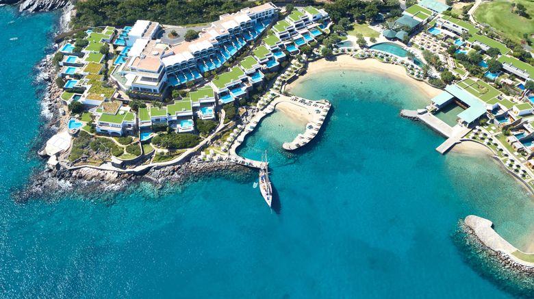 """Elounda Peninsula All Suite Hotel Exterior. Images powered by <a href=""""http://www.leonardo.com"""" target=""""_blank"""" rel=""""noopener"""">Leonardo</a>."""