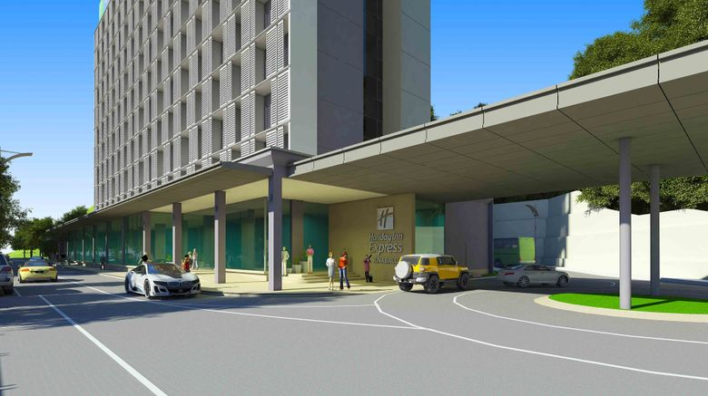 "Holiday Inn Express City Centre Exterior. Images powered by <a href=""http://www.leonardo.com"" target=""_blank"" rel=""noopener"">Leonardo</a>."