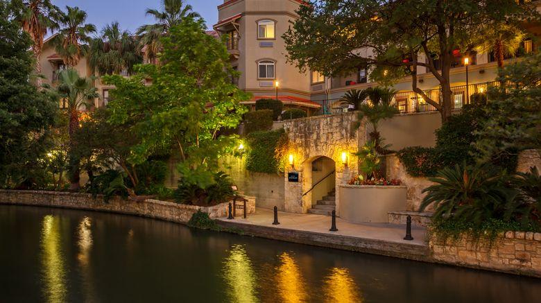 "Hotel Indigo San Antonio Riverwalk Exterior. Images powered by <a href=""http://www.leonardo.com"" target=""_blank"" rel=""noopener"">Leonardo</a>."
